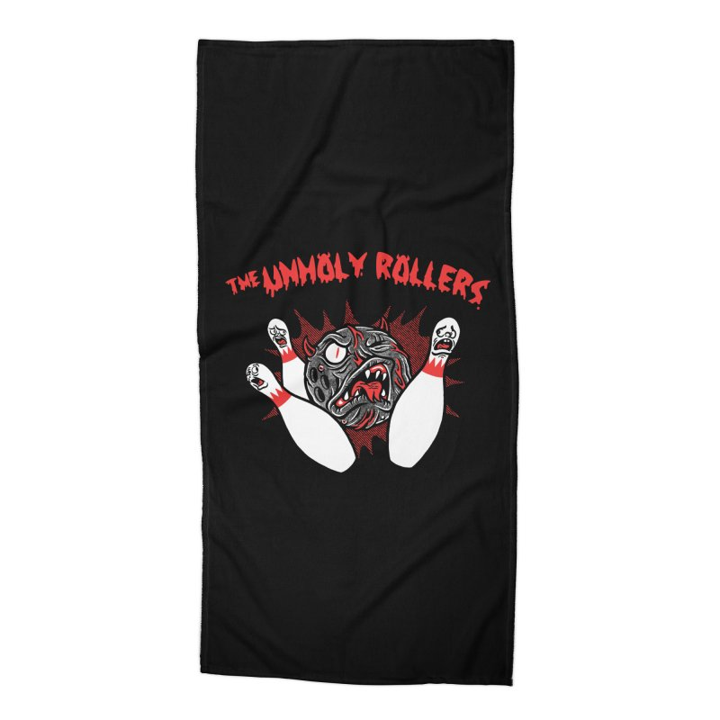The Unholy Rollers Accessories Beach Towel by Gimetzco's Damaged Goods