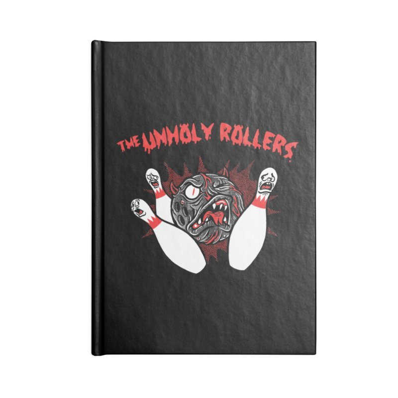 The Unholy Rollers Accessories Lined Journal Notebook by Gimetzco's Damaged Goods