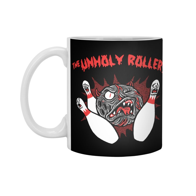 The Unholy Rollers Accessories Standard Mug by Gimetzco's Damaged Goods