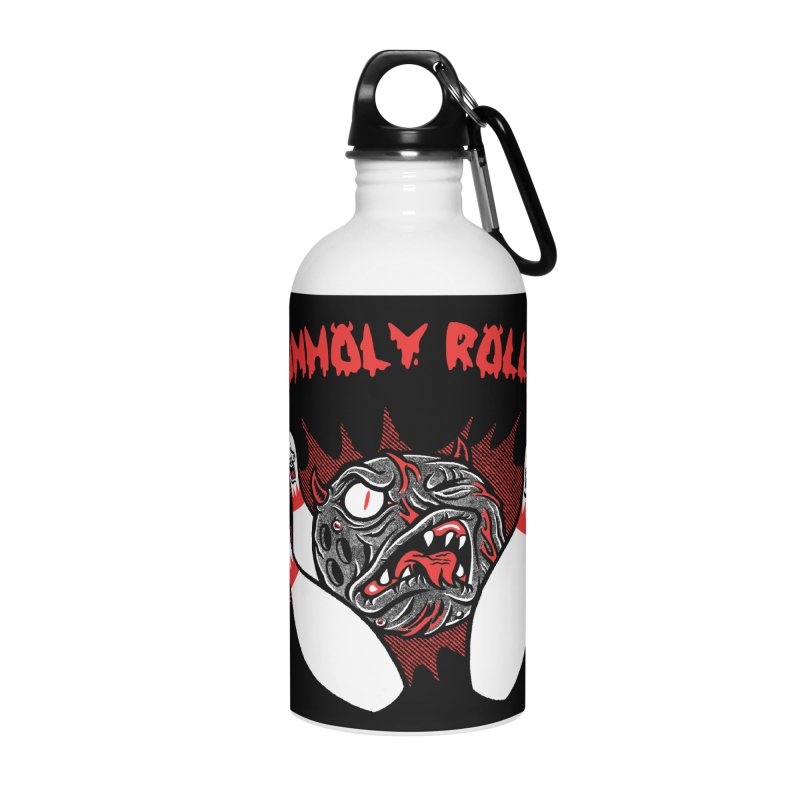 The Unholy Rollers Accessories Water Bottle by Gimetzco's Damaged Goods