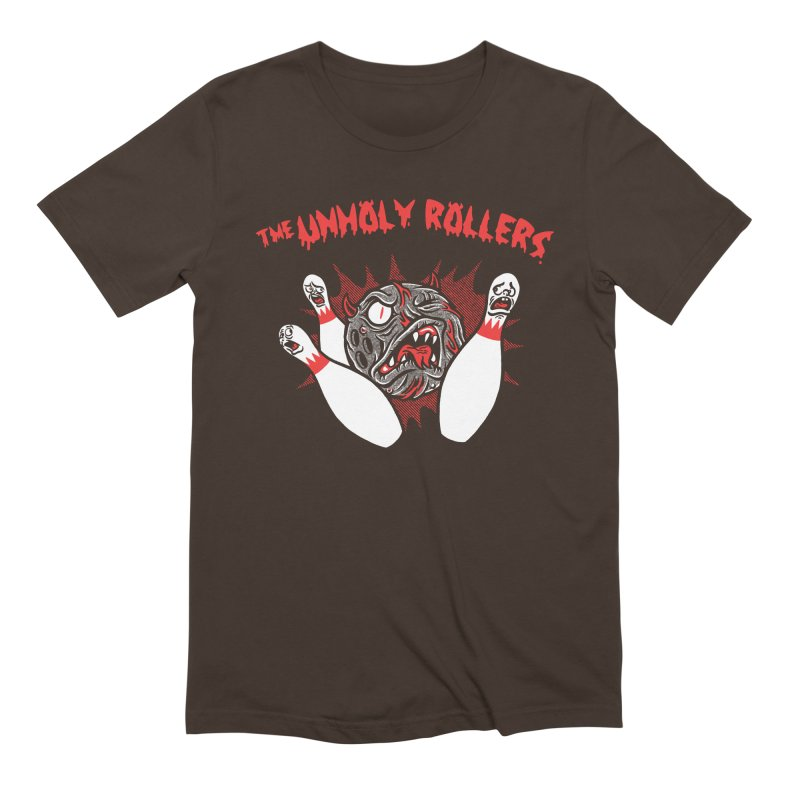 The Unholy Rollers Men's Extra Soft T-Shirt by Gimetzco's Damaged Goods