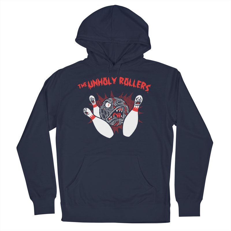 The Unholy Rollers Women's French Terry Pullover Hoody by Gimetzco's Damaged Goods