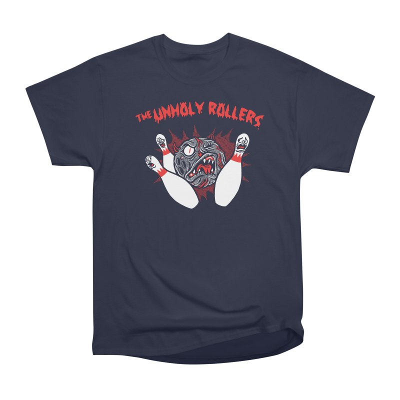 The Unholy Rollers Men's Heavyweight T-Shirt by Gimetzco's Damaged Goods