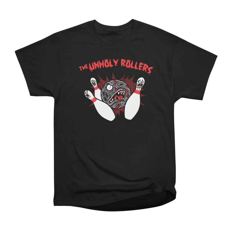 The Unholy Rollers Women's Heavyweight Unisex T-Shirt by Gimetzco's Damaged Goods