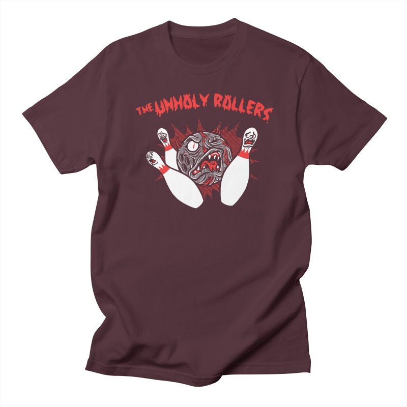 The Unholy Rollers Men's Regular T-Shirt by Gimetzco's Damaged Goods