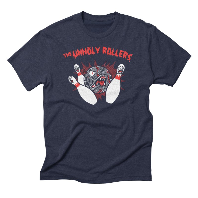 The Unholy Rollers Men's Triblend T-Shirt by Gimetzco's Damaged Goods