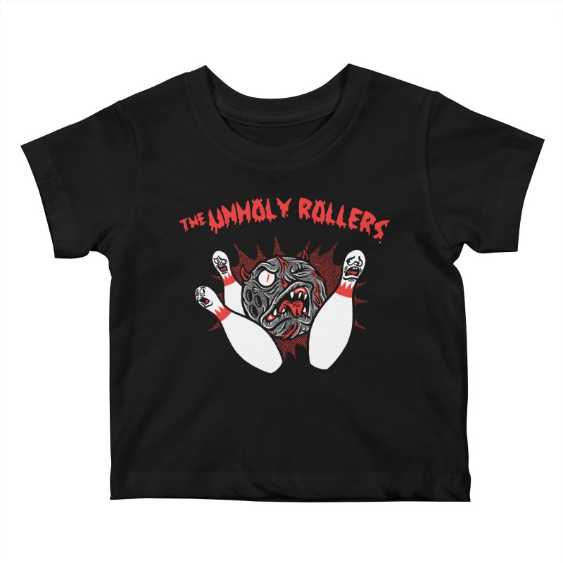 The Unholy Rollers Kids Baby T-Shirt by Gimetzco's Damaged Goods