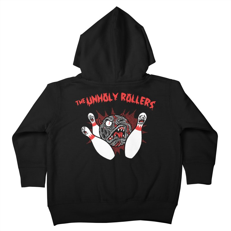 The Unholy Rollers Kids Toddler Zip-Up Hoody by Gimetzco's Damaged Goods