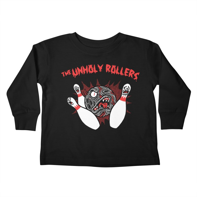 The Unholy Rollers Kids Toddler Longsleeve T-Shirt by Gimetzco's Damaged Goods
