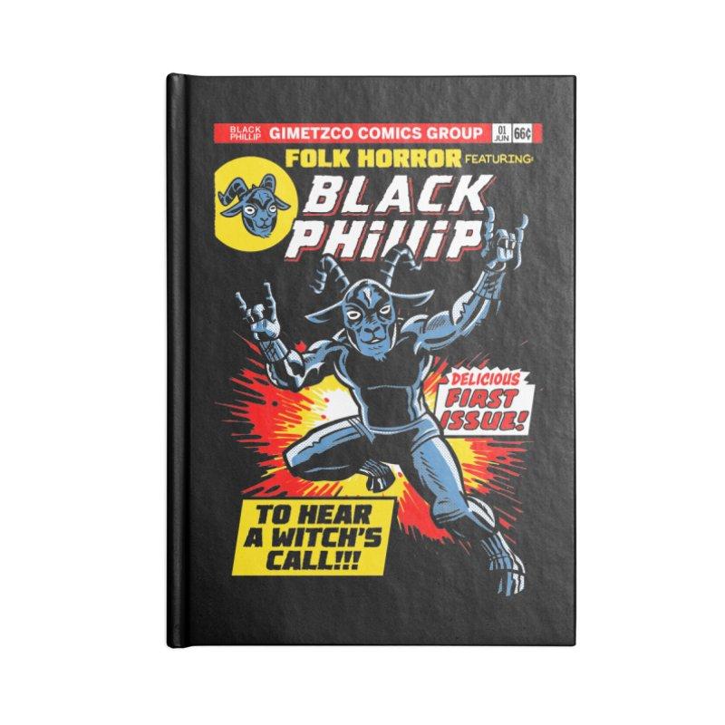 Folk horror featuring: Black Phillip Accessories Notebook by Gimetzco's Damaged Goods