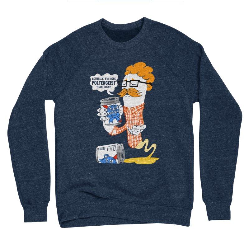 Pabzt Boo Ribbon Women's Sponge Fleece Sweatshirt by Gimetzco's Damaged Goods