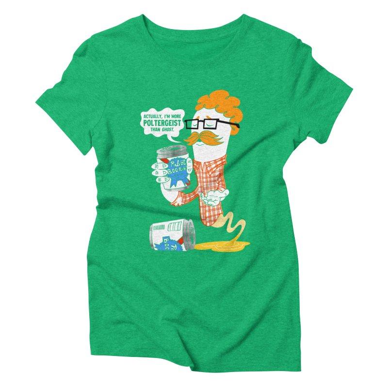 Pabzt Boo Ribbon Women's Triblend T-Shirt by Gimetzco's Damaged Goods