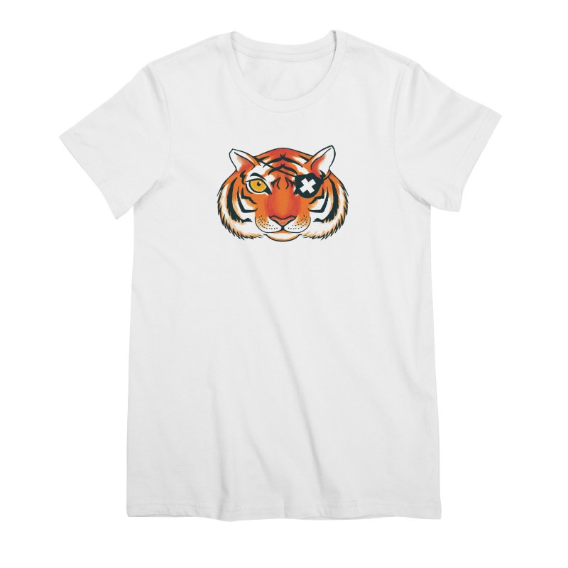 One Eye Women's Premium T-Shirt by Gimetzco's Damaged Goods