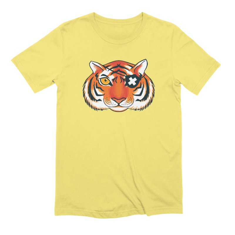 One Eye Men's Extra Soft T-Shirt by Gimetzco's Damaged Goods