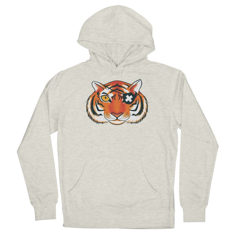 One Eye Men's French Terry Pullover Hoody by Gimetzco's Damaged Goods