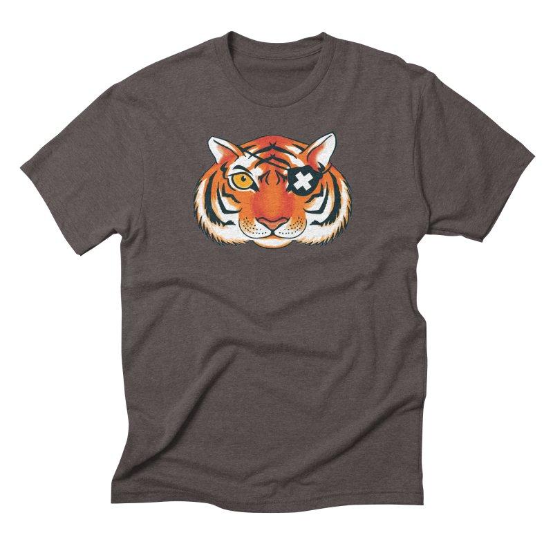 One Eye Men's Triblend T-Shirt by Gimetzco's Damaged Goods