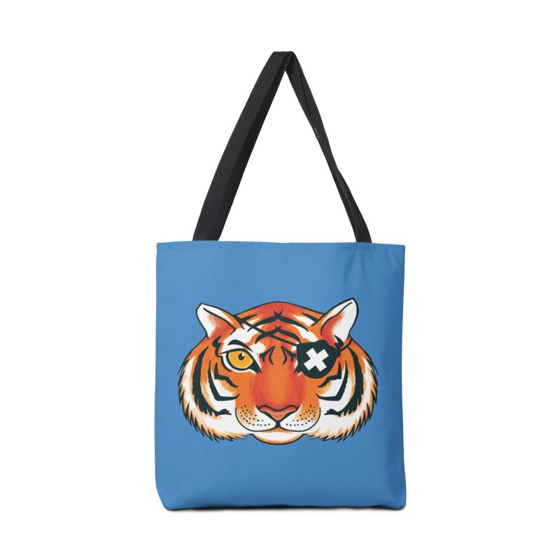 One Eye Accessories Tote Bag Bag by Gimetzco's Damaged Goods