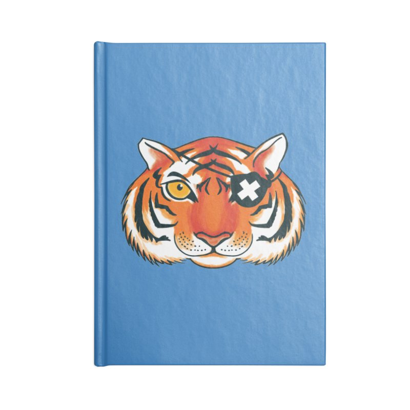 One Eye Accessories Blank Journal Notebook by Gimetzco's Damaged Goods