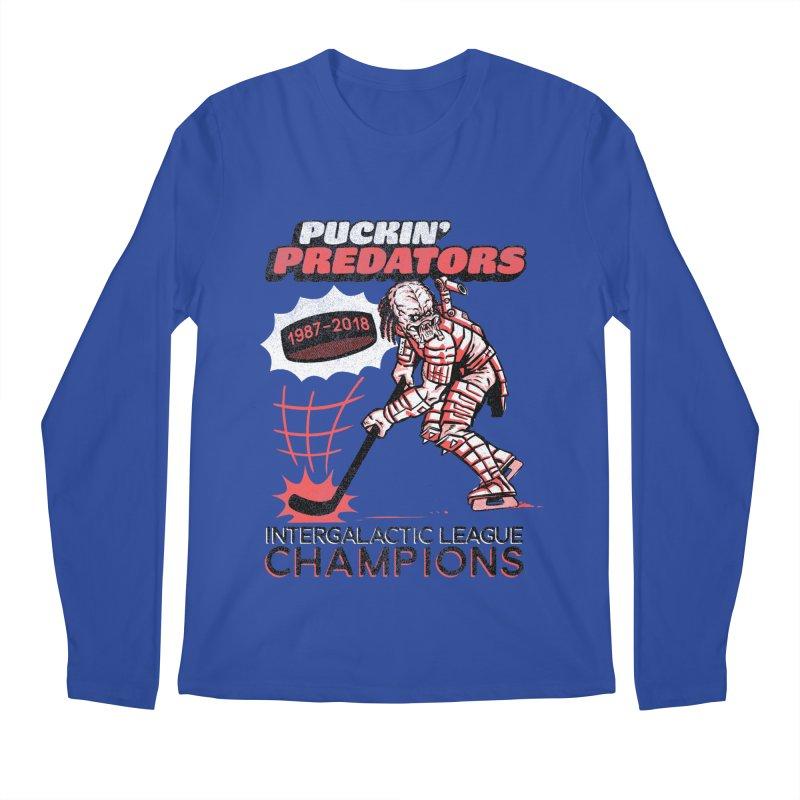 Puckin' Predators Men's Regular Longsleeve T-Shirt by Gimetzco's Damaged Goods