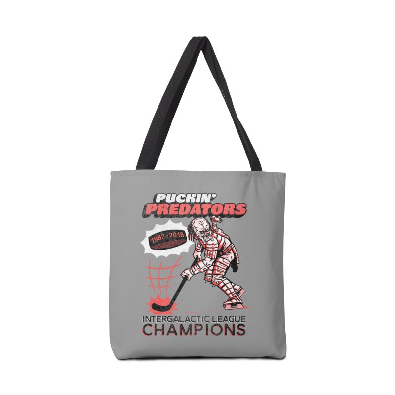 Puckin' Predators Accessories Tote Bag Bag by Gimetzco's Damaged Goods