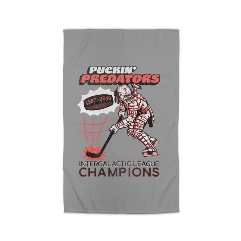 Puckin' Predators Home Rug by Gimetzco's Damaged Goods