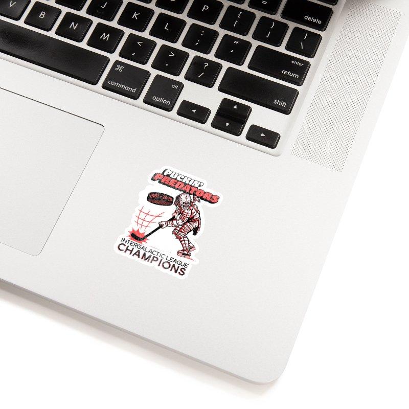 Puckin' Predators Accessories Sticker by Gimetzco's Damaged Goods