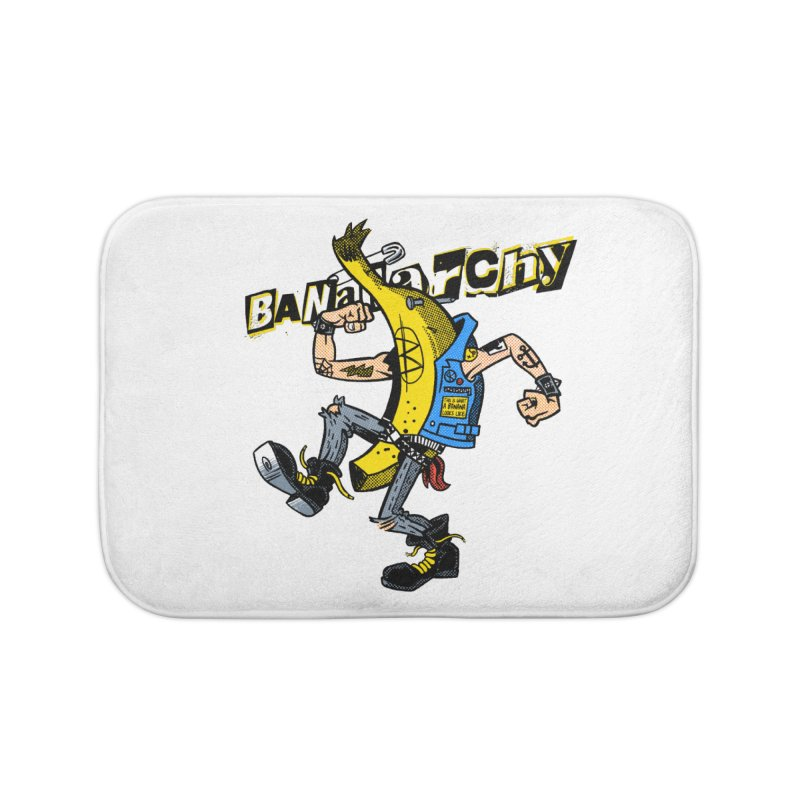 bananarchy Home Bath Mat by Gimetzco's Damaged Goods