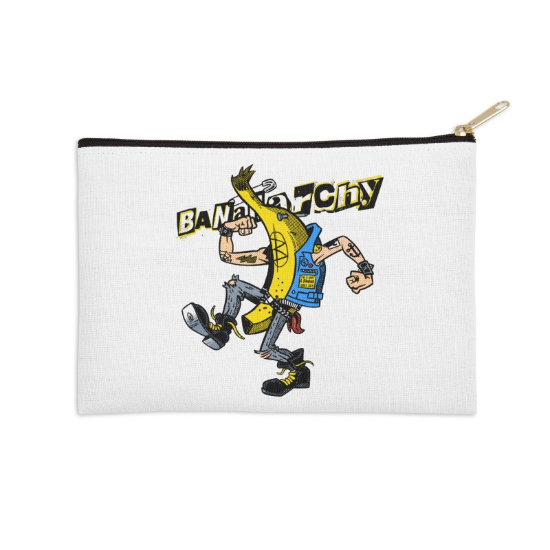 bananarchy Accessories Zip Pouch by Gimetzco's Damaged Goods