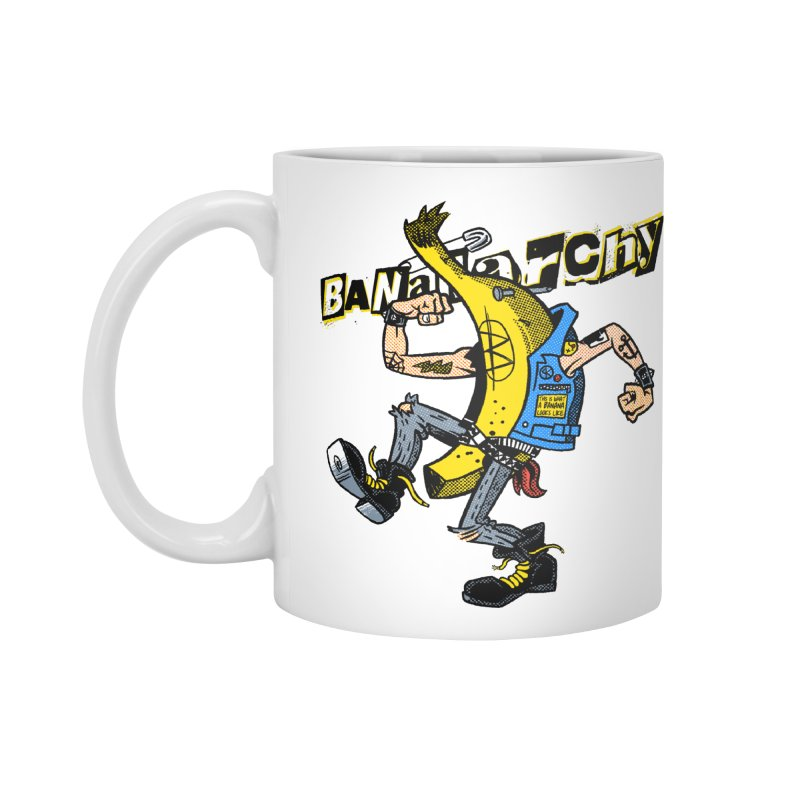 bananarchy Accessories Standard Mug by Gimetzco's Damaged Goods