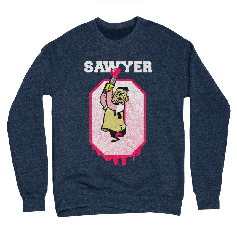 tcm zero Men's Sponge Fleece Sweatshirt by Gimetzco's Damaged Goods