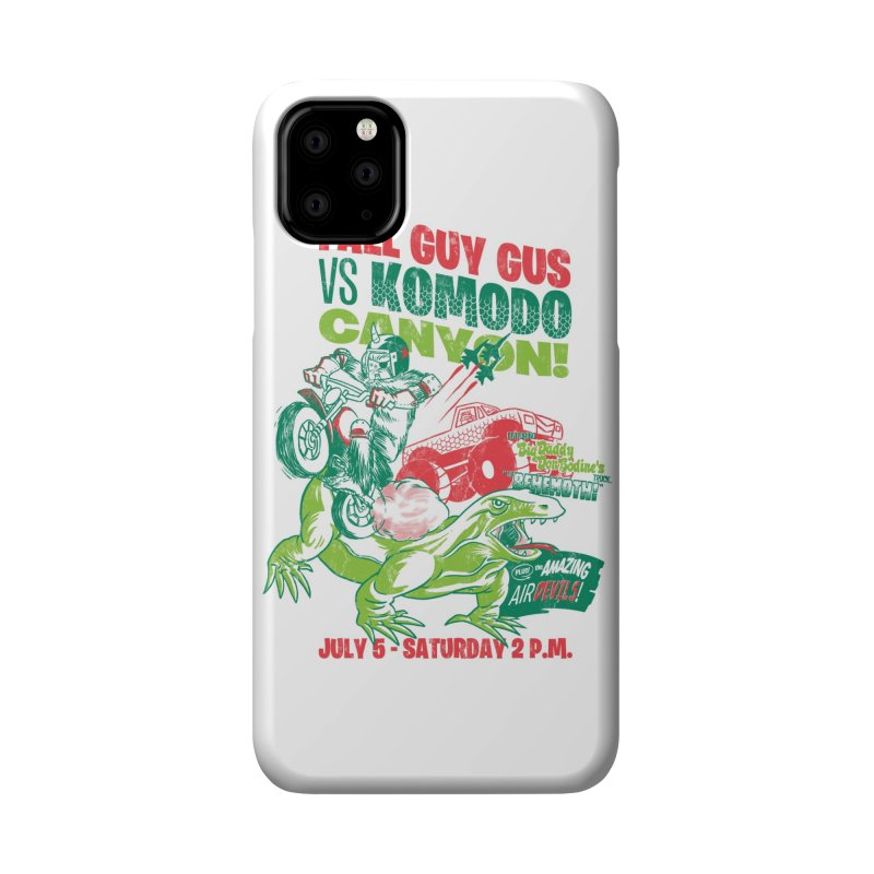 Fall Guy Gus Accessories Phone Case by Gimetzco's Damaged Goods