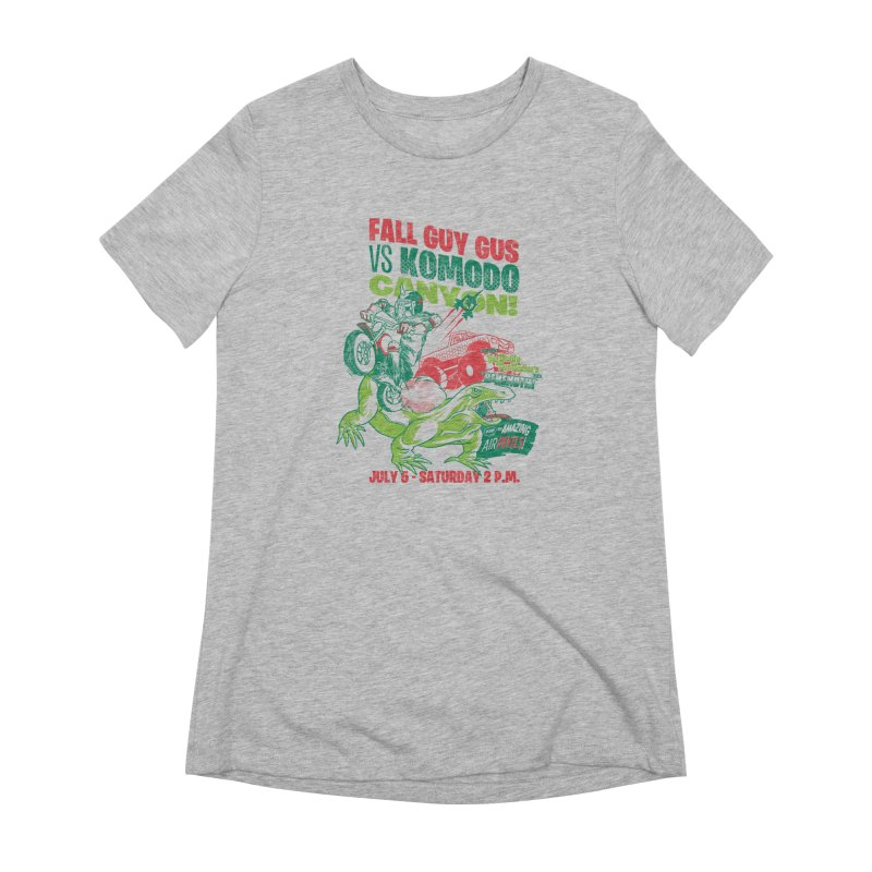 Fall Guy Gus Women's Extra Soft T-Shirt by Gimetzco's Damaged Goods