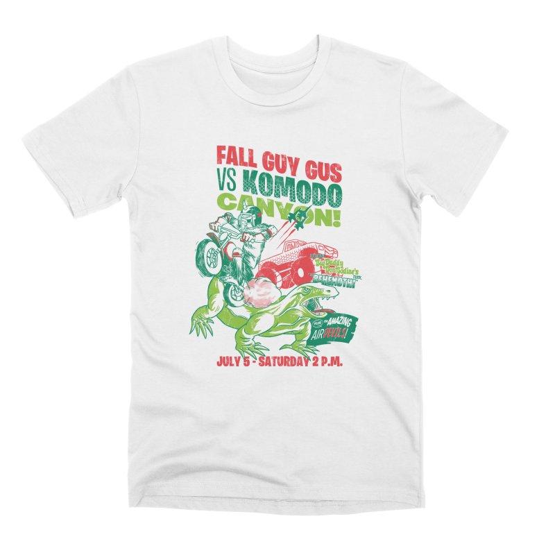 Fall Guy Gus Men's Premium T-Shirt by Gimetzco's Damaged Goods