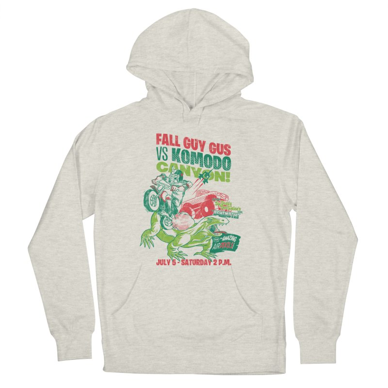 Fall Guy Gus Women's French Terry Pullover Hoody by Gimetzco's Damaged Goods