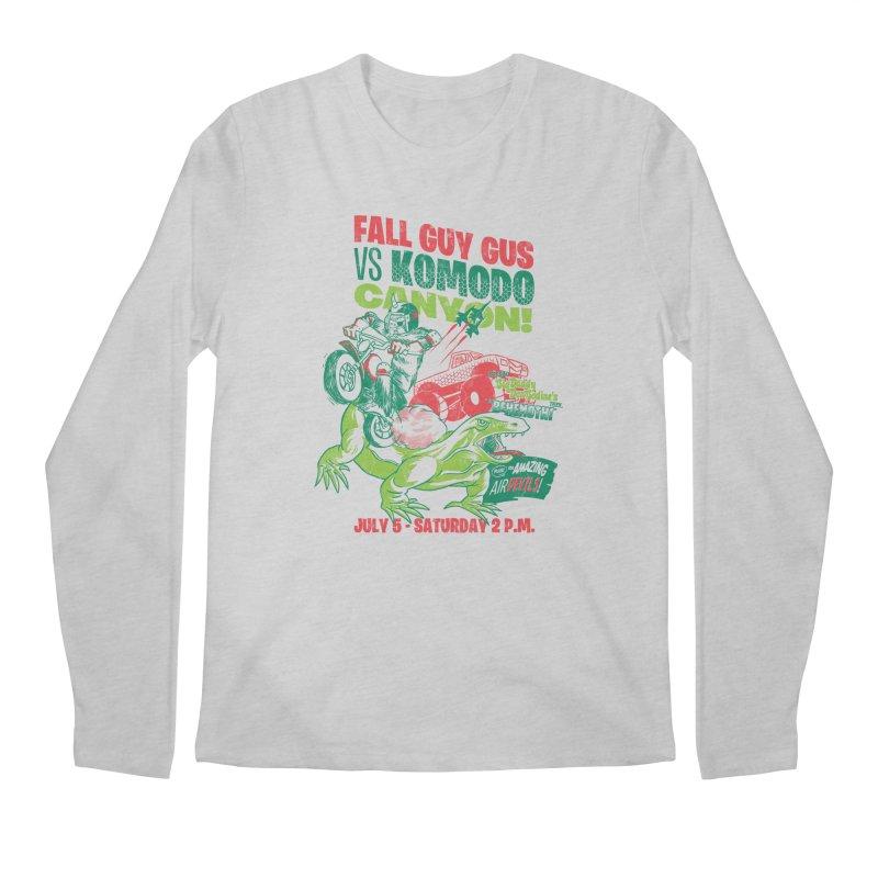 Fall Guy Gus Men's Regular Longsleeve T-Shirt by Gimetzco's Damaged Goods