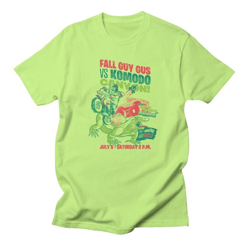 Fall Guy Gus Women's Regular Unisex T-Shirt by Gimetzco's Damaged Goods