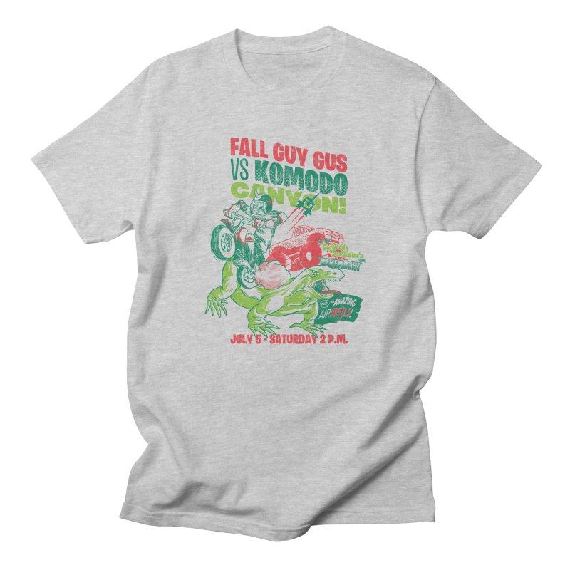 Fall Guy Gus Men's Regular T-Shirt by Gimetzco's Damaged Goods