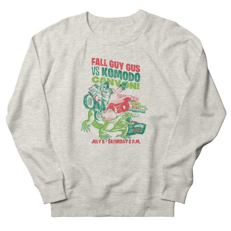 Fall Guy Gus Women's French Terry Sweatshirt by Gimetzco's Damaged Goods