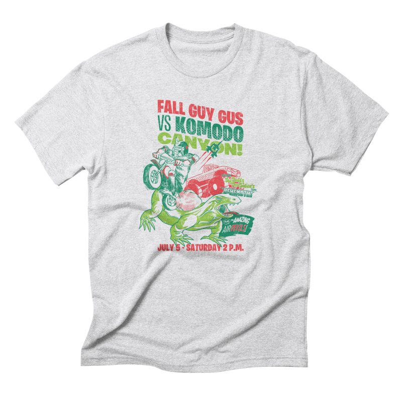 Fall Guy Gus Men's Triblend T-Shirt by Gimetzco's Damaged Goods