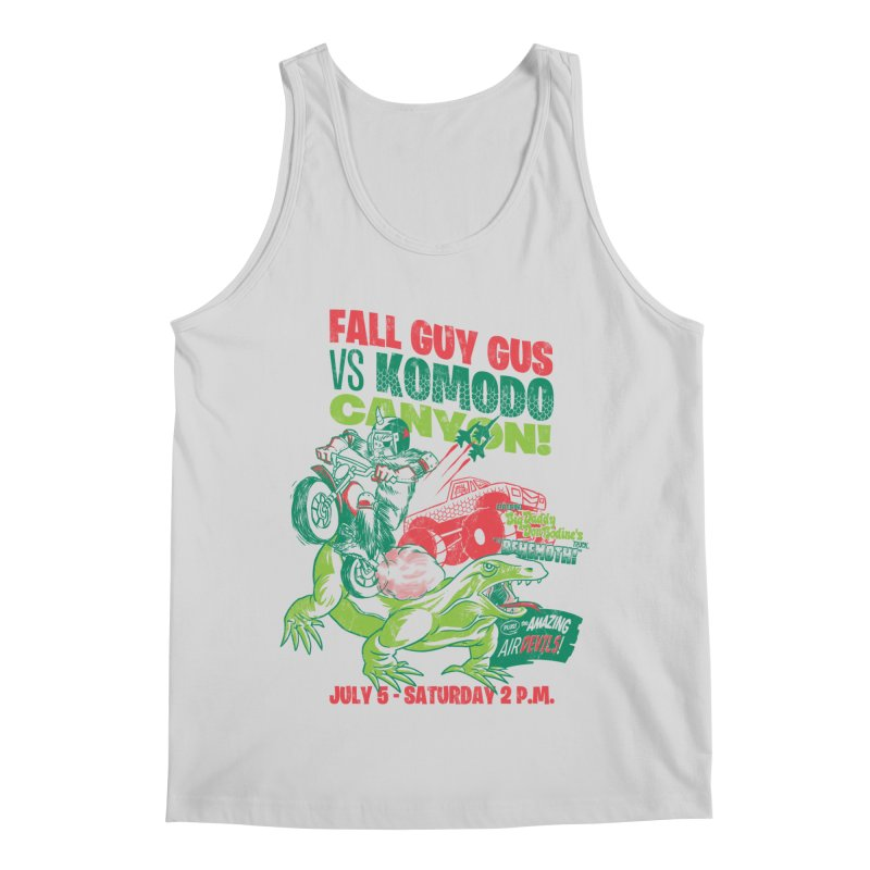 Fall Guy Gus Men's Regular Tank by Gimetzco's Damaged Goods