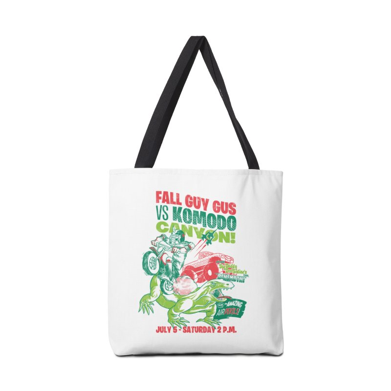 Fall Guy Gus Accessories Tote Bag Bag by Gimetzco's Damaged Goods