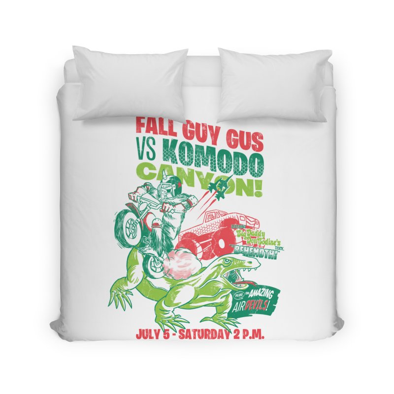 Fall Guy Gus Home Duvet by Gimetzco's Damaged Goods