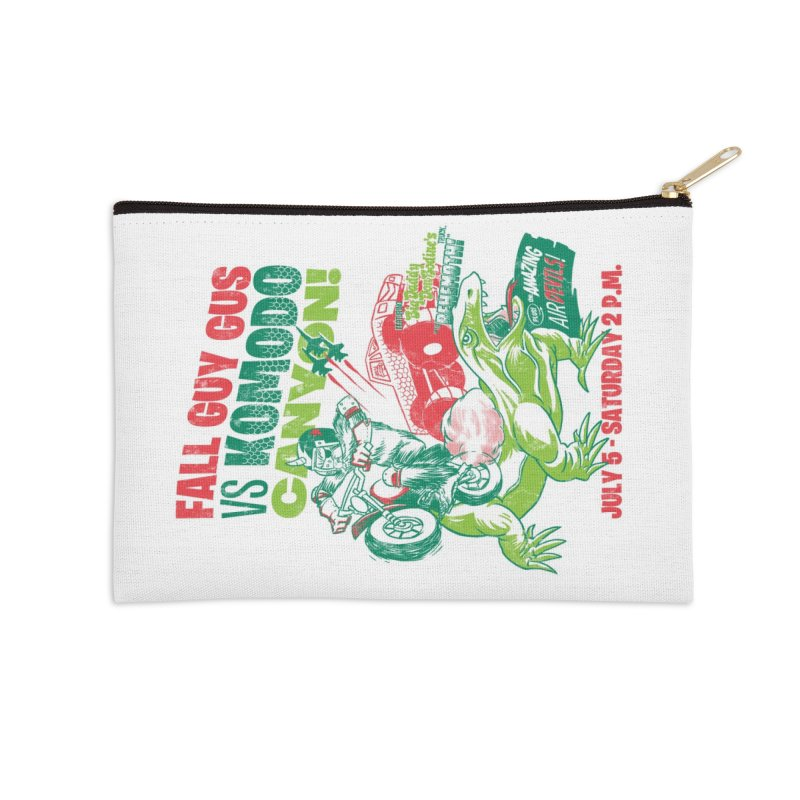 Fall Guy Gus Accessories Zip Pouch by Gimetzco's Damaged Goods