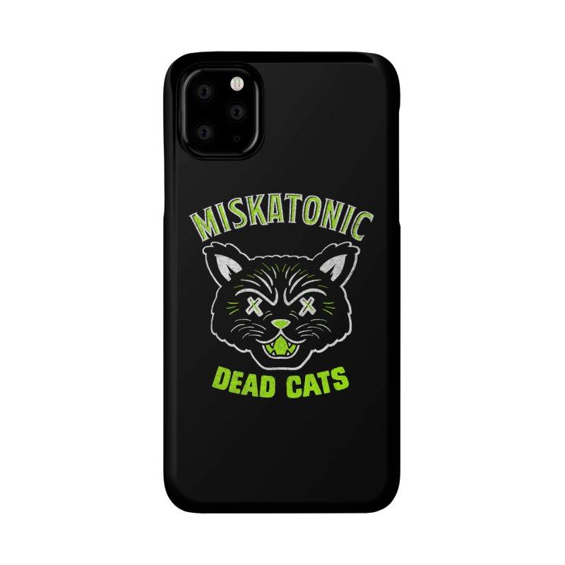 MISKATONIC DEAD CATS Accessories Phone Case by Gimetzco's Damaged Goods