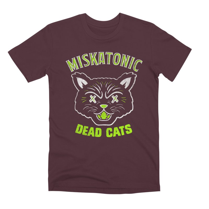 MISKATONIC DEAD CATS Men's Premium T-Shirt by Gimetzco's Damaged Goods