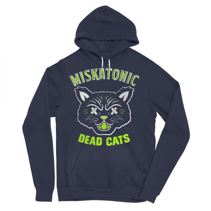 MISKATONIC DEAD CATS Women's Sponge Fleece Pullover Hoody by Gimetzco's Damaged Goods