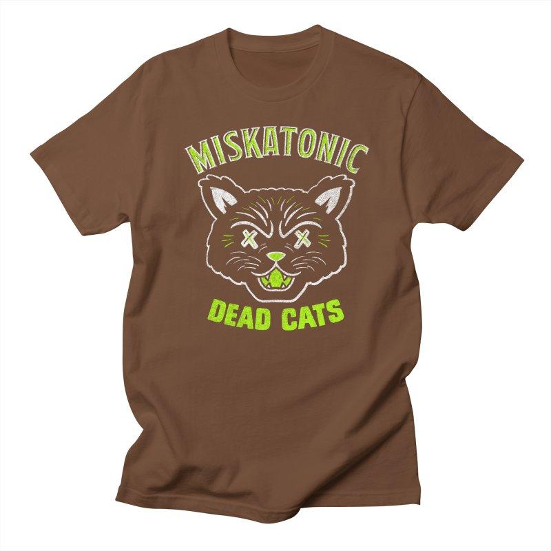 MISKATONIC DEAD CATS Women's Regular Unisex T-Shirt by Gimetzco's Damaged Goods