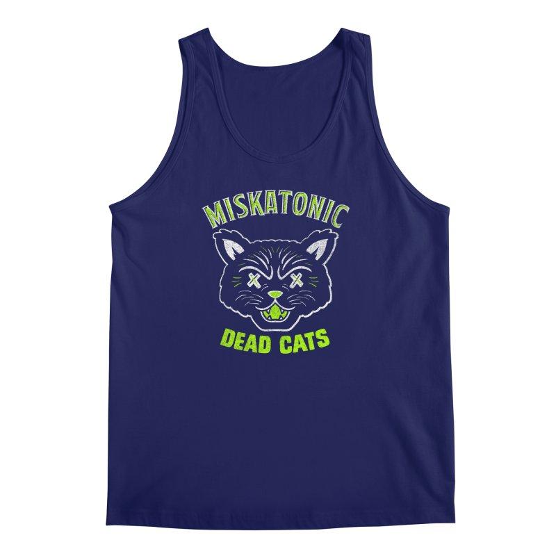 MISKATONIC DEAD CATS Men's Regular Tank by Gimetzco's Damaged Goods