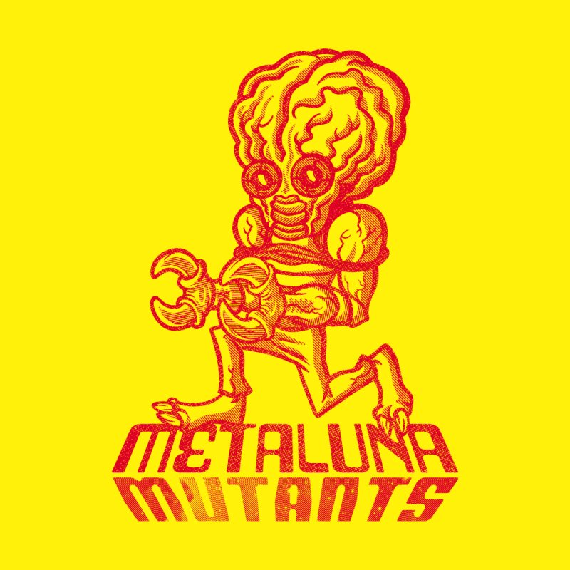 Metaluna Mutants Men's V-Neck by Gimetzco's Damaged Goods