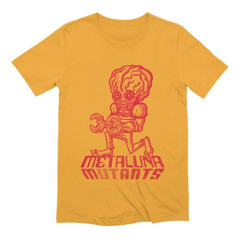 Metaluna Mutants Men's Extra Soft T-Shirt by Gimetzco's Damaged Goods